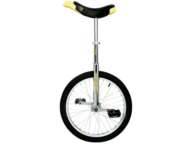 QU-AX Luxus Ethjulet cykel, chrome/black